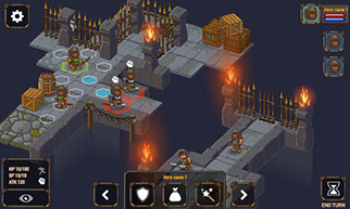 Free dungeon 2D isometric tileset (Creative Commons)